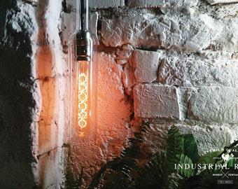 Bottle Lamp, Pendant light, Pendant Lighting, Lighting, Industrial, Bottle Hanging Lamp, Wine bottle, Chandelier, Hanging lamp, Kitchen