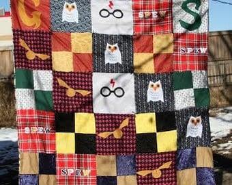 Hogwarts blanket