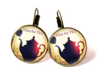 Time for TEA earrings