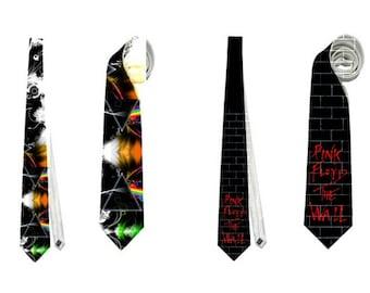 Pink Floyd Necktie neck tie corbata the wall dark side of the moon