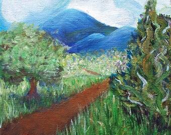 Vermont Landscape Art Print