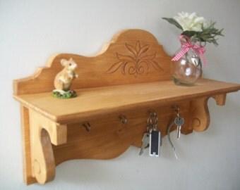 Handmade wooden Shelf Shabby Chic