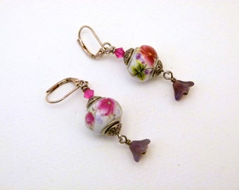 Flowers for You Earrings, E0011