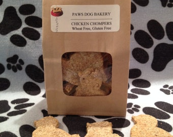 Chicken Chompers - 100% Healthy All Natural, Wheat Free, Gluten Free, No Preservatives.