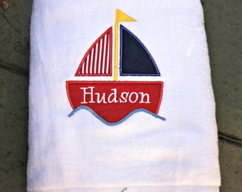 Personalized Bath and Beach Towels