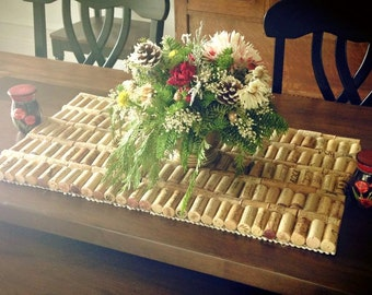 Decorative Cork Mat/Trivet