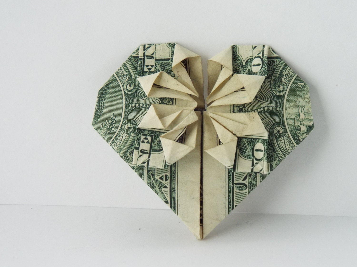 origami heart instructions dollar bill - DriverLayer ... - photo#16