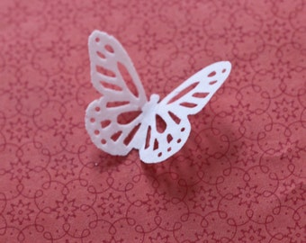 Edible Wafer Paper Butterflies - Beautiful cake or cupcake decorations for weddings or any event