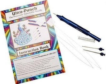 ULTRA-PUNCH Punch Needle Embroidery Set