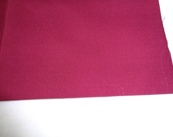 1/2 yard broadcloth choice of colors