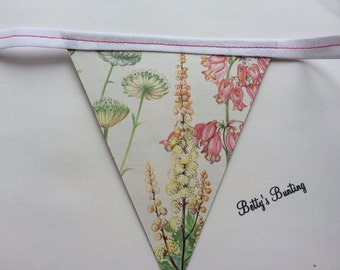 Wedding Botanical Bunting Summer Floral
