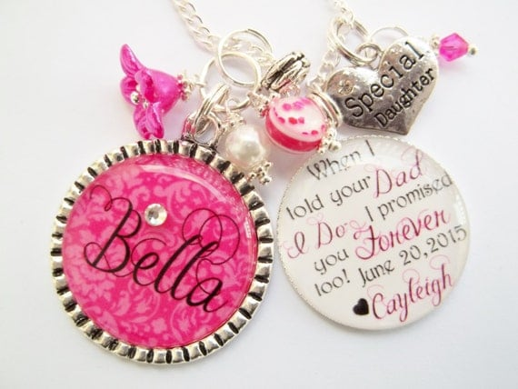Personalized Step Daughter Half Sister Gift Wedding When I told your ...