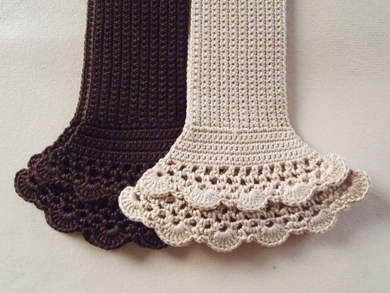 Crochet Bag Handle Cover Pattern : Crochet Handle Cover with zipper for Louis by MyMade21 on Etsy