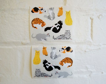 Cats stickers.
