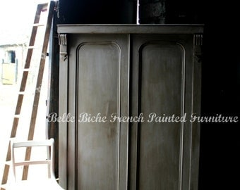 SOLD OUT Splendid Late Victorian Gustavian-Style Mahogany Compactum