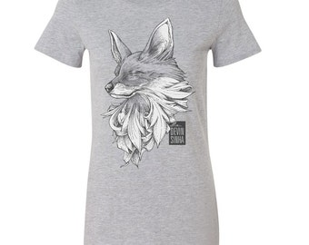 Fox T-shirt - Grey