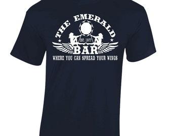 Queen Freddie Mercury Inspired John Deacon Brian May T-Shirt The Emerald Bar Men's T-Shirt
