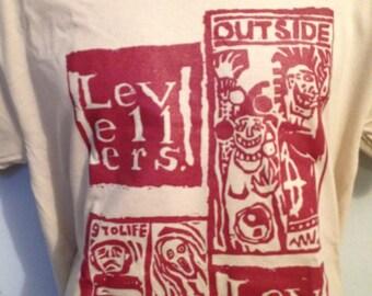 LEVELLERS OUTSIDE KHAKI shirt