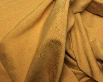 Mustard Bamboo Knit