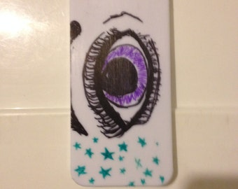 Eye Glitter iPhone 5 Case