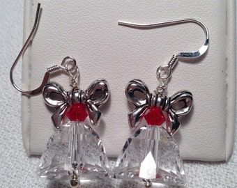 Crystal Bell Earrings