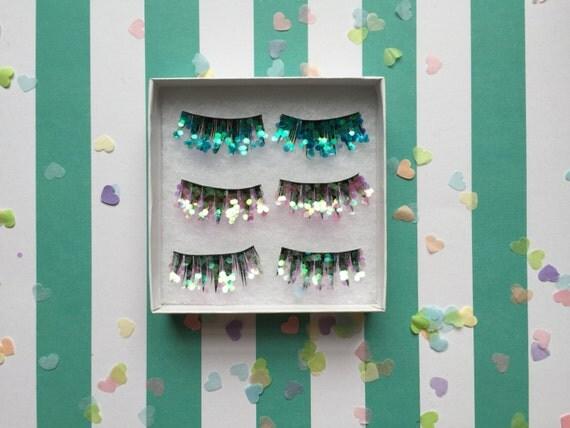 Glitter Eyelash festival pack