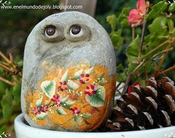 Nº18-  Painted Rocks , Painted Stones , Pierres Peintes , Pietre Dipinte , Piedras Pintadas, расписные камни