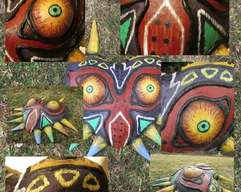 Majora's mask replica made to order prop handmade - Legend of Zelda Majoras Mask