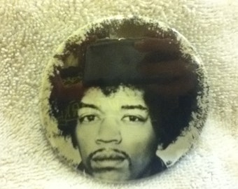 jimi hendrix pin back button