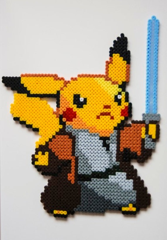 articles similaires pikachu obi wan kenobi star wars. Black Bedroom Furniture Sets. Home Design Ideas