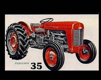 massey ferguson 165 tractor parts manual 390pg of exploded. Black Bedroom Furniture Sets. Home Design Ideas