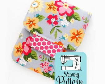 Mending Kit PDF Sewing Pattern | Sewing Kit Padded Storage Case