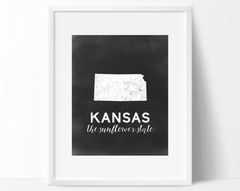 Kansas Printable