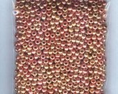 Gorgeous S/L Copper/Gold Metallic Mix Czech Glass Seed Beads Loose Bag 6/0 1300 beads