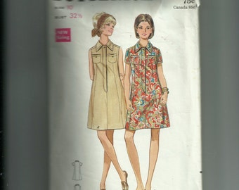 Butterick Junior and Misses' One Piece Dress Pattern 5149