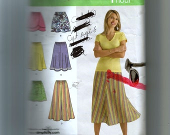 Simplicity Misses' Skirt In Three Lengths Pattern 2368