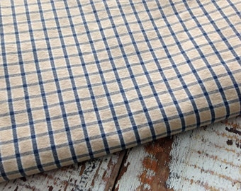 Reclaimed Plaid Fabric-Reclaimed Bed Linens-Red