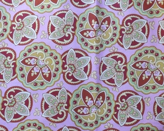 Star Paisley Coral - Amy Butler Lotus Collection