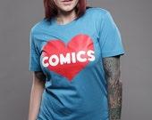 Heart Comics T- Shirt
