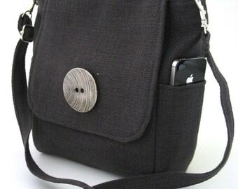 gray messenger bag converts to backpack, grey crossbody bag, grey backpack, tote bag, womens handbag, zipper bag, fit IPAD, grey bag