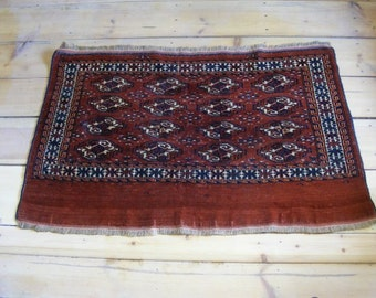 Antique Turcoman rug