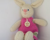 Eco Kids Toy - Custom Knitted Woolies - Choose your Stuffed Animal - Heirloom Treasure from Woolies