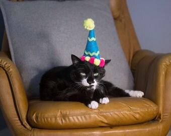 Happy Birthday Cat Hat