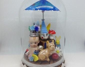 Vintage Antique Doll Assemblage
