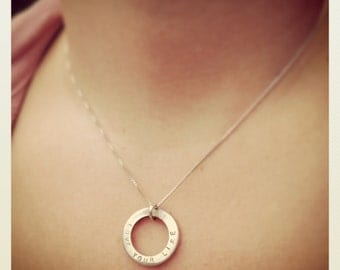 love your life necklace