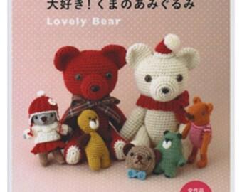 Crochet Doll BEARS Amigurumi - Japanese Craft Book