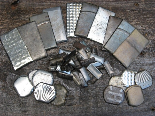 Metal material findings mixed pieces starter kit from for Metal art craft supplies