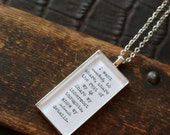 Depeche Mode Necklace. Somebody Lyrics