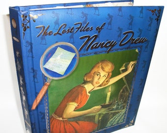 IPad or Kindle DX Cover Nancy Drew Book Tablet Device Cover Ereader Case