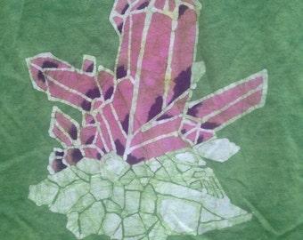 SALE Organic Batik Women's Crystal Tee- XL